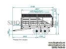 Конструктивно самосвальный тракторный прицеп ПКЗТ-10 является аналогом прицепа ПТС-4, но с более усиленной рамой и кузовом, а также значительно большей вместимостью и грузоподъемностью._4